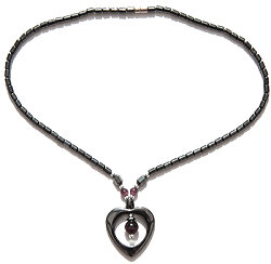 MAGNETIC HAEMATITE NECKLACE