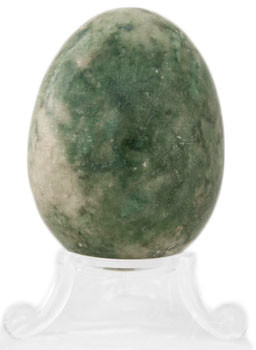 Green Agate Egg
