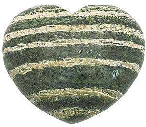 Chrysotile in Serpentine heart