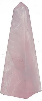 Crystal Obelisks, crystal points, rose quartz, amethyst ...